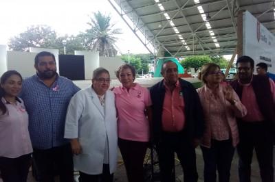Previenen cáncer de mama en Poza Rica