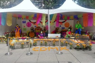 Tradición, cultura y gastronomía en Festival del Cempasúchil