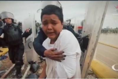 Niño símbolo de la Caravana Migrante fue detenido por la PF en Chiapas