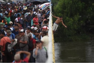 Han regresado voluntariamente 500 hondureños que venían en la caravana