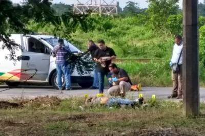 Inicio de semana violento en Veracruz; ejecutan a hombres con 2 horas de diferencia