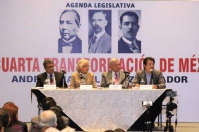 AMLO anuncia 'cachetada con guante blanco para la política neoliberal'