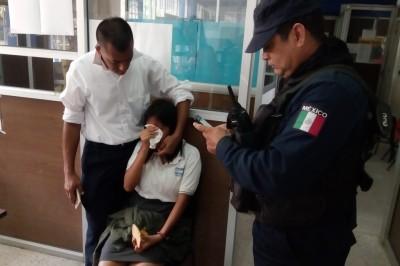 Manosea a menor un hombre abordo de motocicleta en la colonia Reserva Tarimoya