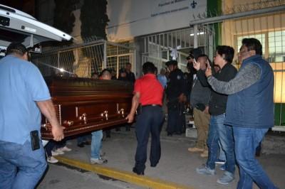 Cuerpo de Valeria Medel arribó a Camerino Z. Mendoza la madrugada de este viernes