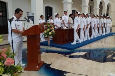 Semar entrega certificados de Calidad a personal de Enfermería de hospital naval