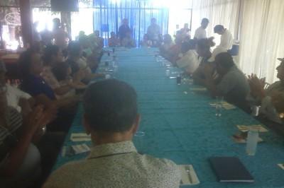 Candidato a la dirigencia del PAN deja plantados a ciudadanos en Agua Dulce