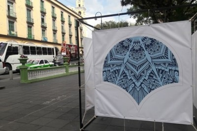 Llega arte digital en las calles de Xalapa