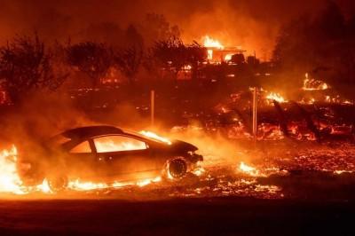 Suman 42 muertos y más de 200 desaparecidos por incendios en California