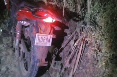 Se mata jovencito en accidente de moto en Tezonapa