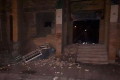 Sismo de 6.3 grados en Irán deja 500 heridos