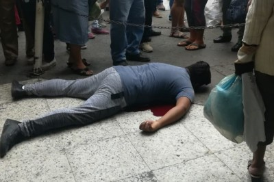 Asaltan y matan a joven a las afueras de Soriana Mercado en Veracruz