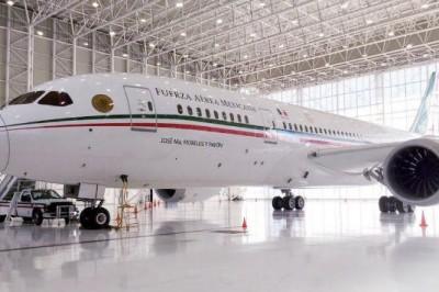 Avión presidencial saldrá este lunes a EU para su venta: SHCP