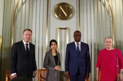 Nadia Murad y Denis Mukwege reciben hoy el Nobel de la Paz en Oslo