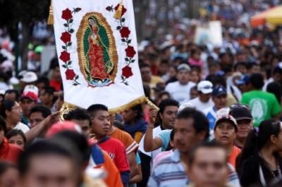 Iglesia católica está lista para celebrar a la virgen de Guadalupe