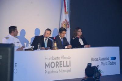 Presenta Humberto Moreli su primer informe de gobierno (+FOTOS)