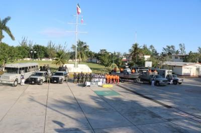Inicia Operación Salvavidas Invierno 2018 en Tuxpan