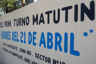Delincuentes vandalizan primaria en Veracruz