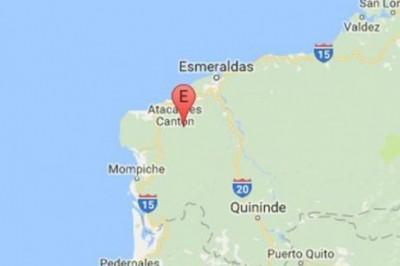 Se registra sismo de 4.9 en Ecuador