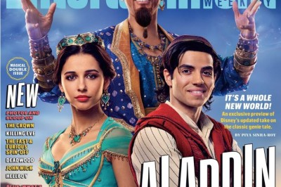Se viralizan las primeras imágenes de Will Smith como genio de 'Aladdin' (+FOTOS)