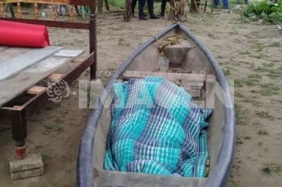 Localizan sin vida cuerpo de pescador desaparecido en San Andrés Tuxtla