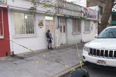 Sujetos armados asaltan oficina de Constructora COMATSA (+Fotos)