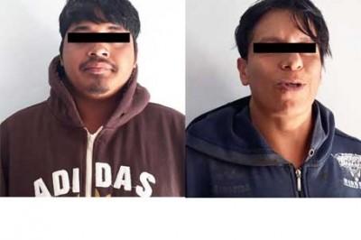Detienen a narcomenudistas en Hueyapan de Ocampo