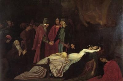 Hoy 29 de enero de 1595 en Londres se estrena la tragedia Romeo y Julieta.