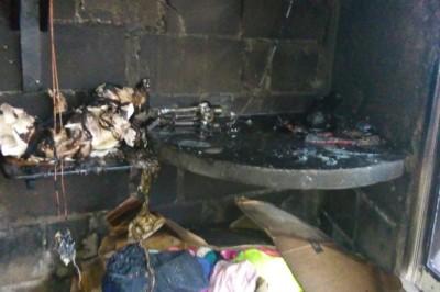 Estado critico, la salud de uno de los niños lesionados tras incendio de vivienda en Alvarado