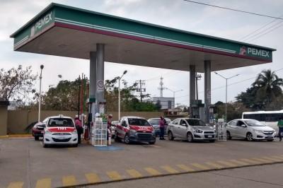 Un monto mayor a 20 Mil pesos fue lo robado en una estación de Gasolina