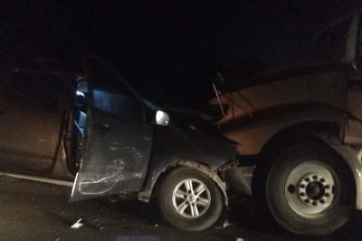 Mortal choque en carretera antigua a Minatitlán