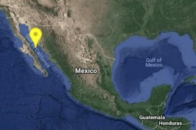 Se registra sismo de magnitud 4.2 al noroeste de Santa Rosalía, Baja California Sur