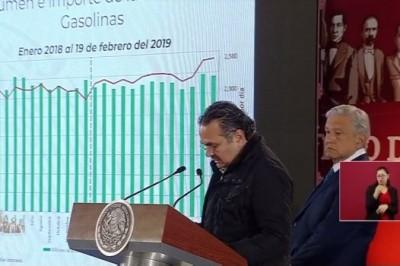 Se dejó de robar 7 mil 800 mdp en combustible: Pemex