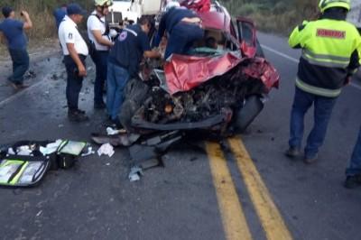 Eran de Tierra Blanca las dos personas que perdieron la vida en fatal accidente en Córdoba- Veracruz