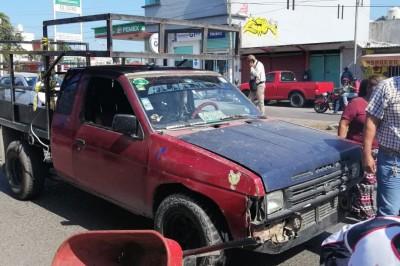Accidente la tarde de hoy deja fallecido un hombre de la tercera edad en calles de Veracruz