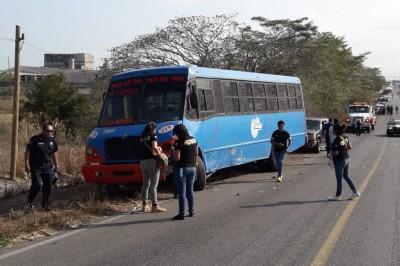 Fatal accidente en carretera Boca del Río-Veracruz