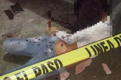 Joven mujer falle después de caer varios metros de una vivienda