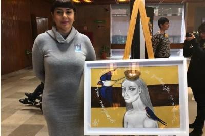 Participa en 'Mujeres pintoras'