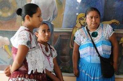 Promotora de la mujer indígena