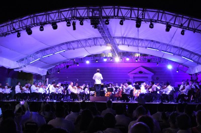 Vibra música en San Juan de Ulúa