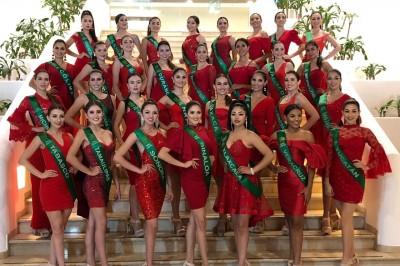 Llegan 32 bellezas a Veracruz