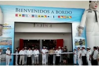 Inaugura Secretaría de Marina Expo Mar 2019