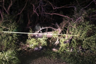 Conductor muere prensado tras aparatoso accidente en Zona Industrial