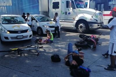 Fatal accidente en Colonia Primero de Mayo, deja dos personas lesionadas