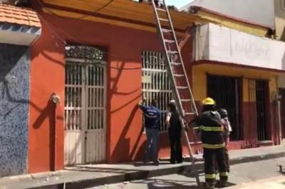 Se desploma vivienda en Veracruz; propietarios acusan al INAH