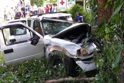 Fatal accidente deja a hombre prensado