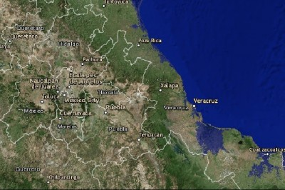 Veracruz quedará bajo el agua tras cambio climático: NASA