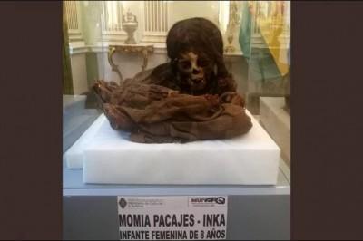 Devuelve EU momia inca