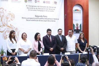 Garantizados los derechos del magisterio con Cuitláhuac García como aliado: SEV