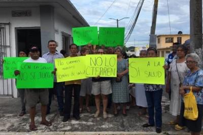 Exigen a gobernador que no se cierre Centro de Salud de la colonia Echeverría