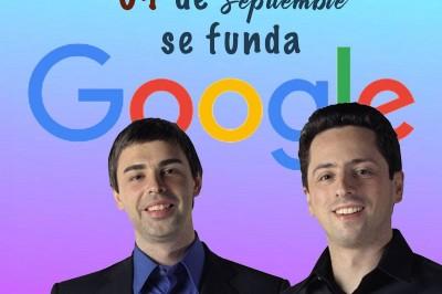 Se funda Google